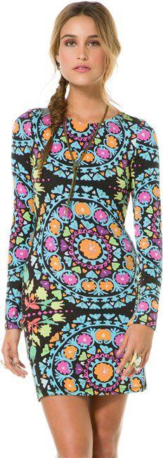 MARA HOFFMAN LONG SLEEVE MINI DRESS > Womens > Clothing > Dresses | Swell.com
