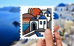 Γραμματόσημα από τον τόπο σου: Ο Mike Karolos φιλοτεχνεί.