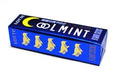 Coolmint Gum by Lotte. Taku Sato designed it.