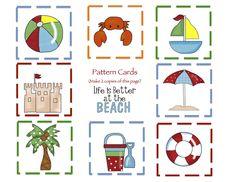 Preschool Printables: Beach