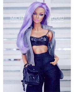 "235 Likes, 16 Comments - Michaela Unbehau (@michaela_unbehau) on Instagram: ""DOLLCHIC Anna After Sunset Dress: Karen Kolkman #toys #toyphotography #yummy #dollphotogallery…"""