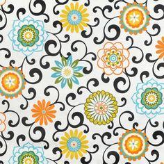 Waverly Pom Pom Play Confetti Fabric