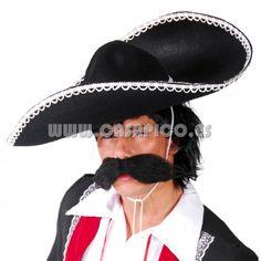 Sombrero Mejicano Mariachi. #disfracescasapico #sombrero #disfraz #sombrerosparadisfraz