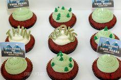 Twin Peaks cupcake