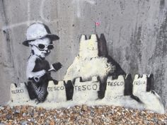 Banksy by the Sea!