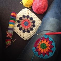 Working on some squares before receiving all the colors for this project. I will mix the king cole cotton soft DK with some scheepjes merino soft (which I adore the palette of colors ) Happy day sweet friends! 19.4.2016 #yarn #crochet #crochetwip #bedspreadinthemaking #forsummer #cottonyarn #cotton #kingcoleyarn #kingcolecottonsoft #scheepjes #scheepjesmerinosoft #love by lemondedesucrette