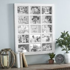 Make your favorite memories stand out with this rustic piece from Kirkland's.