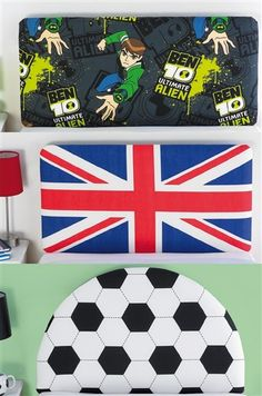 Union Jack Novelty Headboard