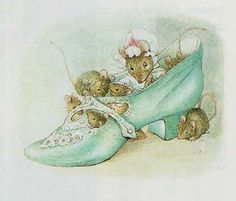 You know the old woman who lives in a shoe? And has so many children she didn't know what to do? ~ Appley Dapply Nursery Rhymes, illustration by Beatrix Potter Beatrix Potter Illustrations, Cat Illustrations, Beatrice Potter, Peter Rabbit And Friends, Kids Room Art, All Nature, Cumbria, Children's Book Illustration, Nursery Rhymes