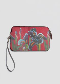 VIDA Leather Statement Clutch - RAINBOW LOVE by VIDA FpGQuFPU