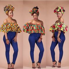 ~DKK ~African fashion, Ankara, kitenge, African women dresses, African prints… Remilekun - African Styles for Ladies African Fashion Ankara, African Fashion Designers, African Inspired Fashion, African Print Fashion, Africa Fashion, Ghanaian Fashion, African Dresses For Women, African Print Dresses, African Attire