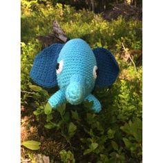 Sebra Heklet Elefant Dinosaur Stuffed Animal, Barn, Toys, Animals, Activity Toys, Animaux, Animal, Animales, Barns
