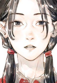 微博 Cartoon Drawings, Cartoon Art, Art Drawings, Pretty Art, Cute Art, Manga Art, Anime Art, Drawn Art, Wow Art