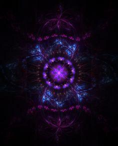 It's a thing. Purple Art, Purple Love, All Things Purple, Shades Of Purple, Deep Purple, Digital Collage, Digital Art, Spiritual Images, Fractal Art