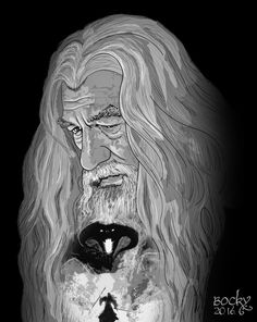 Gandalf by bockybp.deviantart.com on @DeviantArt