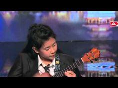 12 year old Sydney Uke wows judges with ukulele Asia's Got Talent Episode 5 - YouTube