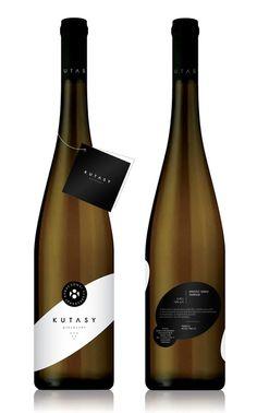 Kutasy Wine packaging by Zsombor Kiss Wine Bottle Design, Wine Label Design, Wine Bottle Labels, Beer Labels, Bottle Opener, Beverage Packaging, Bottle Packaging, Coffee Packaging, Food Packaging