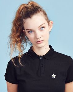 Lazy Oaf Daisy Polo Shirt - View all - NEW IN - Womens
