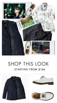 """""""Kim Seokjin / Papillon / BTS concept photos"""" by the92liner ❤ liked on Polyvore featuring Dr. Martens and H&M"""