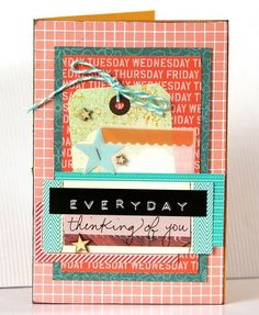 -everyday card- - Two Peas in a Bucket