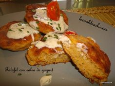 Falafel con salsa de yogurt   Le Cookbook