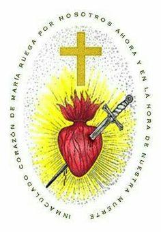 Oración del Inmaculado Corazón de Maria en el Escapulario Verde.