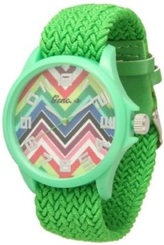 http://interiordemocrats.org/geneva-braided-fabric-rainbow-chevron-face-watchkelly-green-p-5801.html