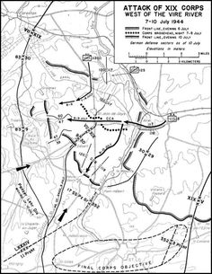 Battle of Hedgerows/capture of St. Lo, Normandy