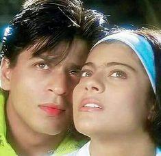 Kuch Kuch Hota hai Bollywood Couples, Bollywood Actors, Indian Actresses, Actors & Actresses, Shahrukh Khan And Kajol, The Sweetest Thing Movie, Kuch Kuch Hota Hai, Movie Dialogues, Vintage Bollywood