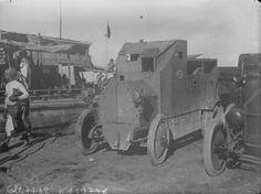 1916 - Une auto blindée en Mésopotamie : photographie de presse / Agence Rol