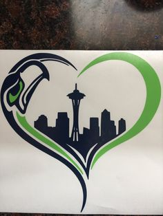 Seahawks Decal by DnLCustomDecals on Etsy