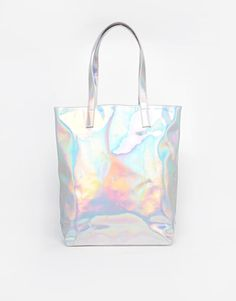 ASOS | ASOS Hologram Shopper Bag at ASOS