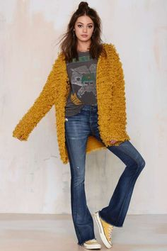 Knitz by For Love & Lemons Joplin Knit Cardigan - Newly Added | Sweaters