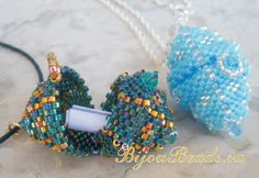 Beaded bead with a secret free tutorial