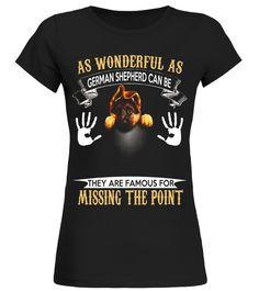 As Wonderful As German Shepherd Tshirt