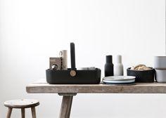Modern Picnic Basket by Menu - Design Milk Design Shop, Menu Design, Modern Picnic Baskets, Shops, Kitchen Office, Kitchen Stuff, Ceramic Tableware, Kitchenware, Wooden Tops