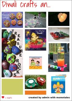 10 Diwali Crafts and Books for Kids from memetales