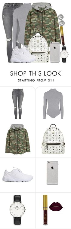 """MCM, Puma and TOPSHOP"" by camrzkn ❤ liked on Polyvore featuring Topshop, MCM, Puma, Daniel Wellington and Mark Broumand"