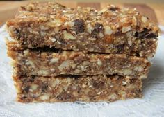Homemade Oat Peanut Butter Chocolate Chip Larabars