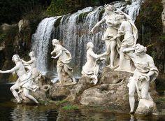 Fontana di Diana e Atteone ~ Reggia Di Caserta, Italia/ Italy