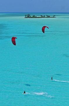 Bahamas #kitesurfing #kiteboarding #travel #ActionTripGuru