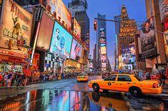 Times Square Colors, Manhattan, New York.