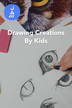 Drawing creations that bring animals, nature, faces & more to life; made by kids on JAM.