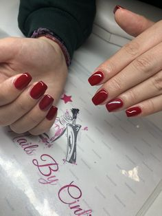 Red Nails 😘