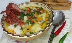 Ciorba cu telina si costita afumata Supe, Homemade, Drinks, Cooking, Food, Kitchens, Drinking, Kitchen, Beverages