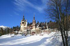 Castle Peles - Romania - Transylvania Romania, Barcelona Cathedral, Castles, Harry Potter, World, Building, Travel, The World, Voyage