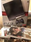 Sony (CECH-2001B) PlayStation 3 - 250GB - Black - Video Gaming Console