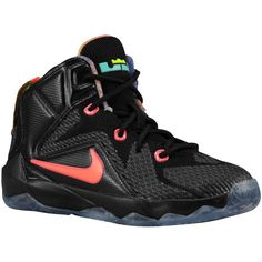 2fcfcf5c557 Nike LeBron 12 Boys  Preschool ( 80) ❤ liked on Polyvore featuring lebrons