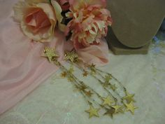 Kirk's Folly Shooting Stars Shoulder Duster earrings by Jelenity