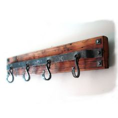 Hand Forged Coat Rack by HAND FORGE: